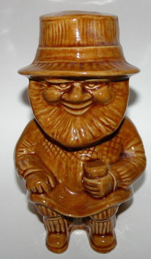 Vintage Torquay Widdecombe Pottery Chedder Man Toby Jug