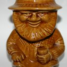 Vintage Torquay Widdecombe Pottery Chedder Man Toby Jug
