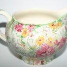 Antique Midwinter Porcelon B Chintzware Chintz Floral Pottery Jug 1930
