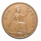 King George VI One Penny 1944 Coin