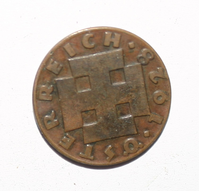 Austria 2 Groschen 1928 Bronze �STERREICH Coin