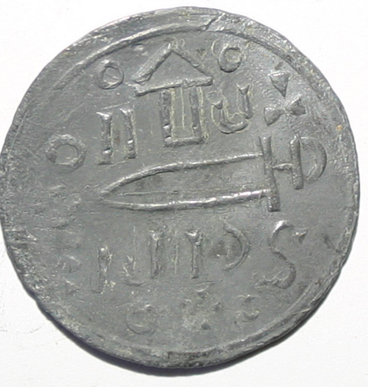 Rare Unusal Coin Ancient Greece 68AD Bosporos, Kings, Rheskuporis