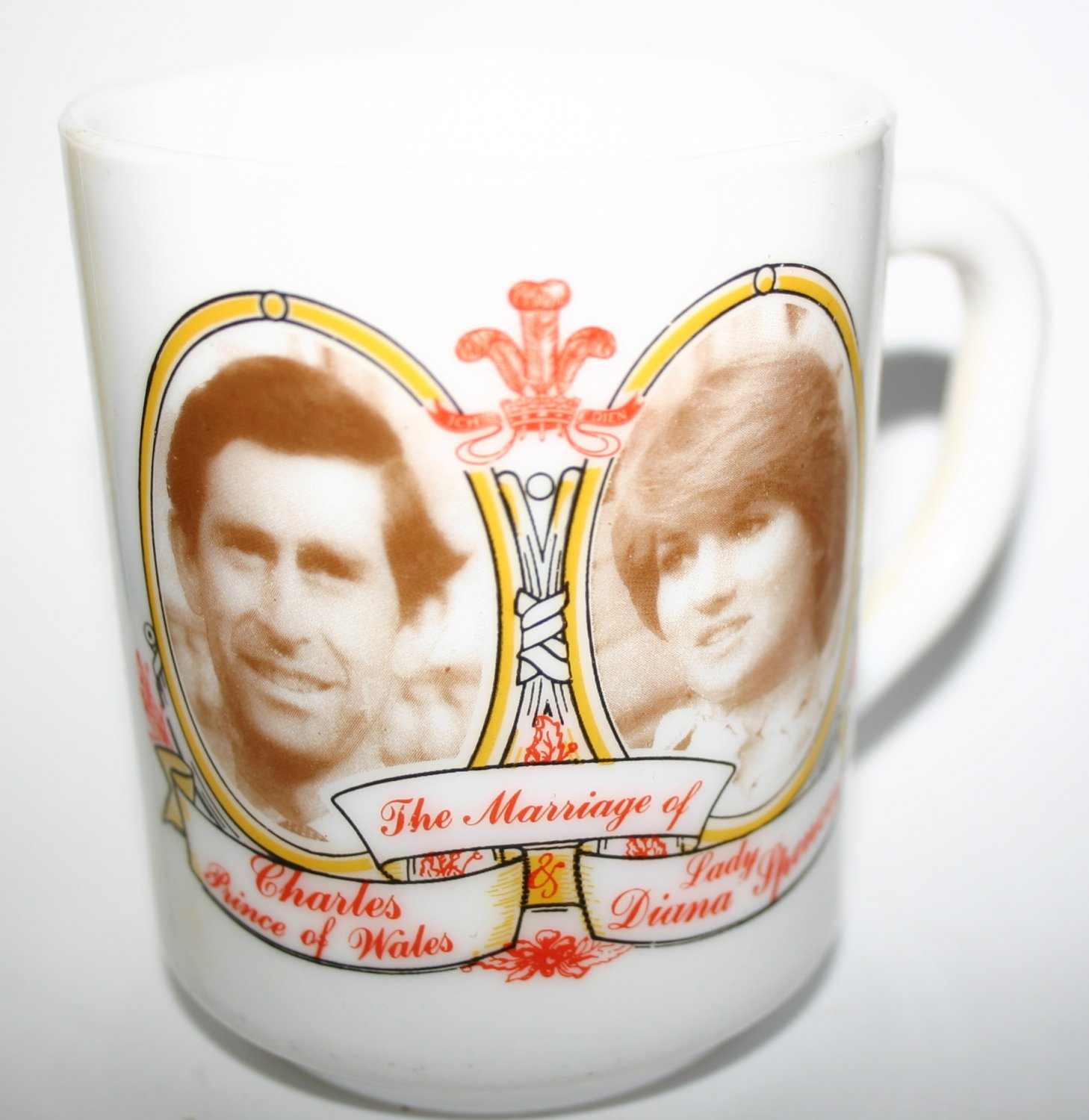 The Marriage Of Prince Charles and Lady Diana Commemorative Mug