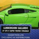 Lamborghini Gallardo LP 570-4 Super Trofeo Stradale 1:35 Scale Diecast Model
