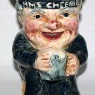 Large Toby Jug Old Salt HMS Cheerio Sailor Old Staffs Toby Shorter & Son Ltd