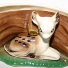 Hornsea Pottery Faun Deer Vase Collectors Item