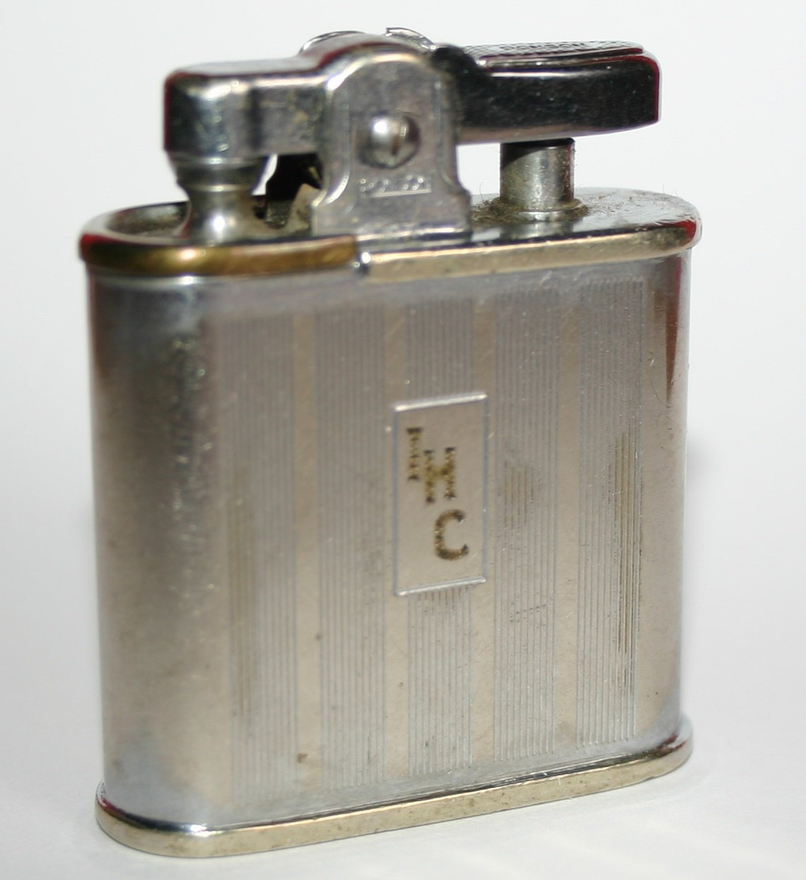 Antique Ronson Whirlwind Classical Petrol Cigar Lighter
