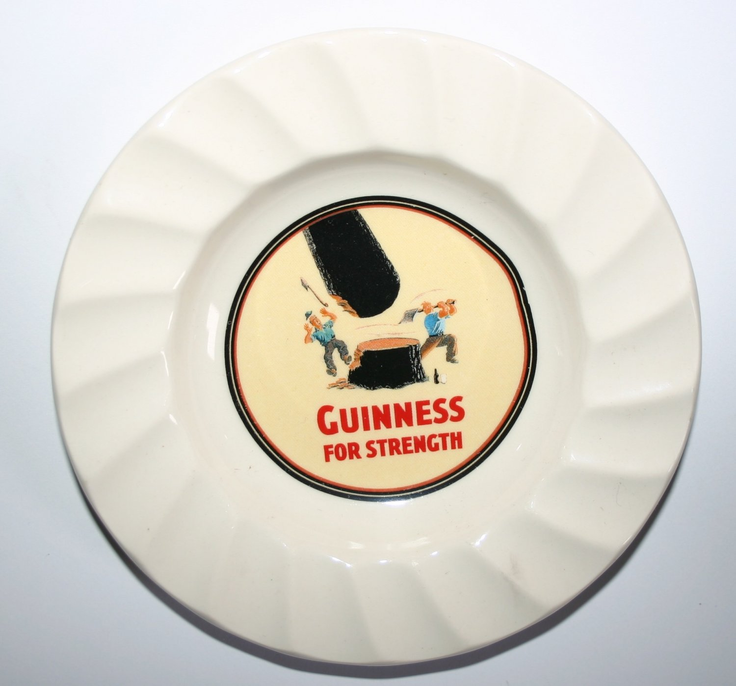Guinness For Strength Dish By Carrigaline Pottery Ireland Vintage Collectable