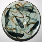 Rare Hand Painted Vintage Dish Signed By Artist. A beautifully crafted design