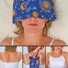 Eye Pillow & Neck Pillow & Back Pillow Set