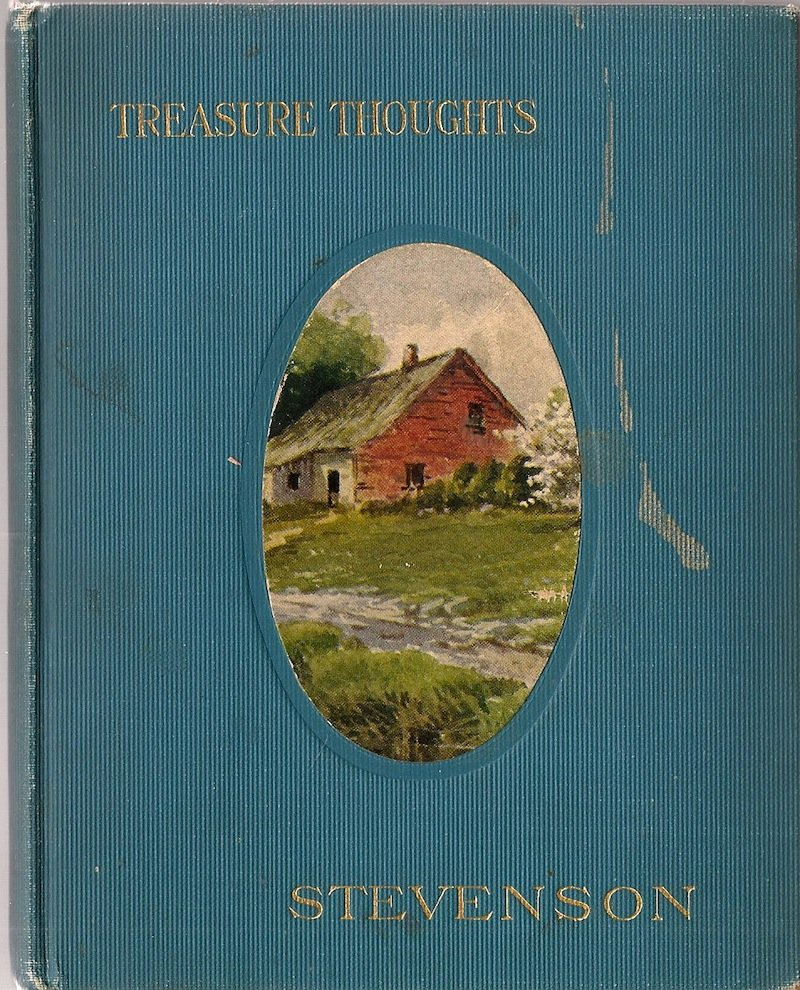 VINTAGE BOOK Treasure Thoughts