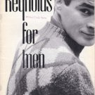 VINTAGE KNITTING MAGAZINE Reynolds For Men Vol. 40A