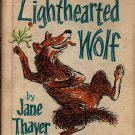 VINTAGE KIDS BOOK The Lighthearted Wolf