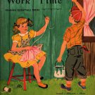 VINTAGE KIDS BOOK Work Time Reading Essentials Series Written by Adda Mai Sharp