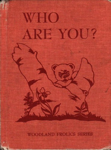 VINTAGE KIDS BOOK Who Are You Woodland Frolics Series