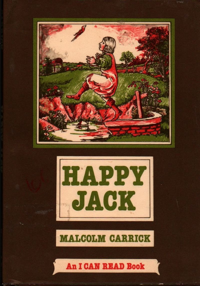 Happy Jack An I Can Read Book - Malcolm Carrick - 1979 - Vintage Book
