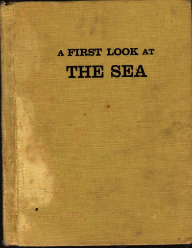 A First Look at the Sea - A.J.M. and F. Goico Aguirre - 1960 - Vintage Book