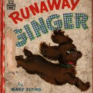 Runaway Ginger a Whitman Tell-a-Tale Book - Mary Elting - Zillah Lesko - 1949 - Vintage Kids Book