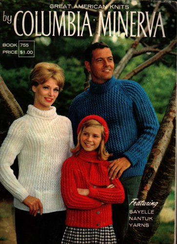 Great American Knits by Columbia Minerva - Vintage Pattern Book