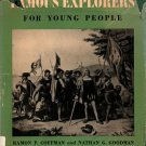 Famous Explorers for Young People - Ramon P. Coffman and Nathan G. Goodman - 1959 - Vintage Books