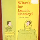 What's For Lunch, Charley? - Margaret Hodges - Aliki - 1963 - Vintage Kids Book