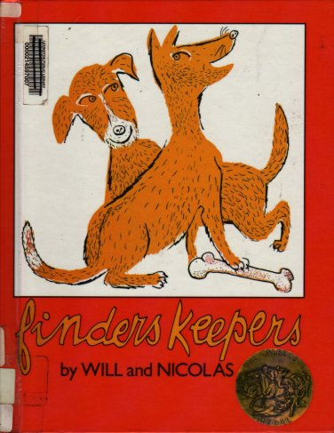 Finders Keepers - Will Lipkind and Nicolas Mordvinoff - 1979 - Vintage Kids Book