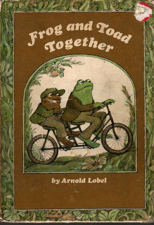 Frog and Toad Together - Arnold Lobel - 1972 - Vintage Kids Book