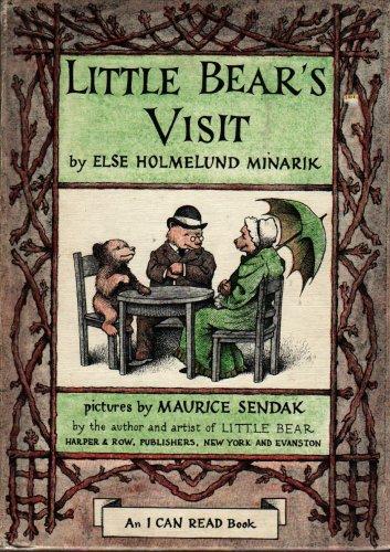 Little Bear's Visit An I Can Read Book - Else H. Minarik - Maurice Sendak - 1961 - Vintage Kids