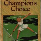 Champion's Choice A Falcon Book - John R. Tunis - 1940 - Vintage Teen Book
