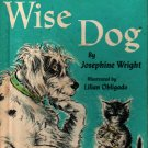 Wise Dog - Josephine Wright - Lilian Obligado - 1966 - Vintage Kids Book