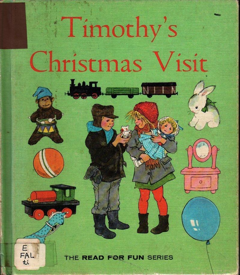 Timothy�s Christmas Visit Read For Fun - Ann Mari Falk - Ilon Wikland (1964) Vintage Kids Book