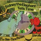 Sidney the Elephant Tells Time Magic Picture Storybook Terrytoons 1977 Vintage Kids Book