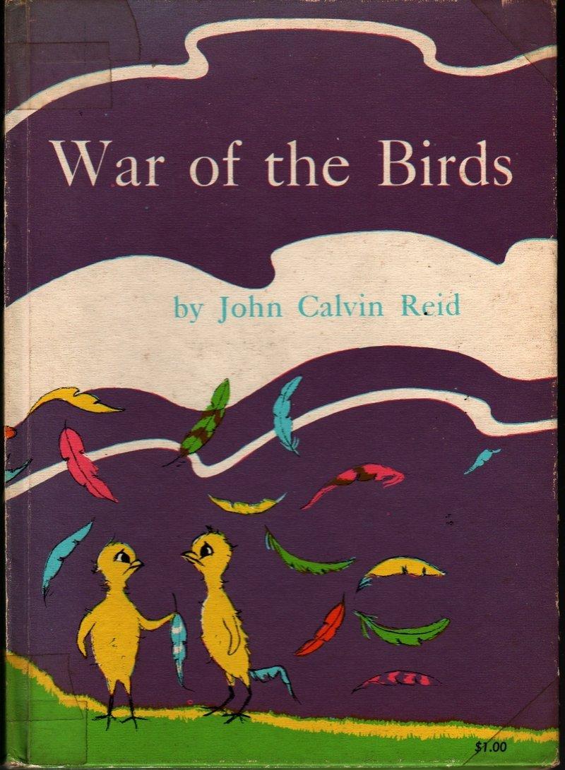 War of the Birds - John Calvin Reid - Macy Schwarz - 1963 - Vintage Kids Book