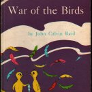War of the Birds - John Calvin Reid - Macy Schwarz - 1963 - Vintage Kids Book