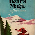 Bear's Magic and Other Stories - Carla Stevens - Robert J. Lee - 1976 - Vintage Kids Book