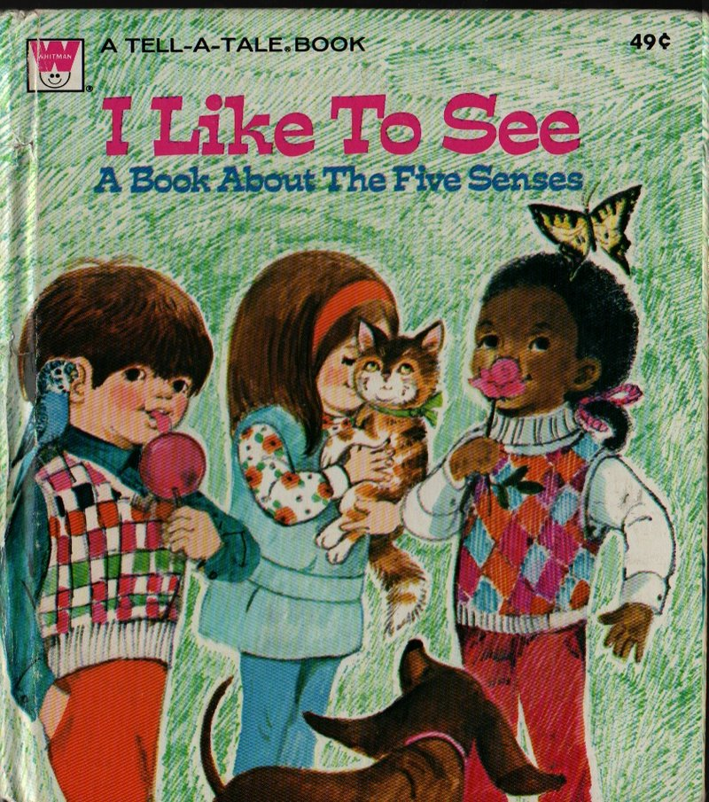 I Like To See a Whitman Tell-a-tale Book - Jean Tymms - June Goldsborough - 1973 - Vintage Kids Book