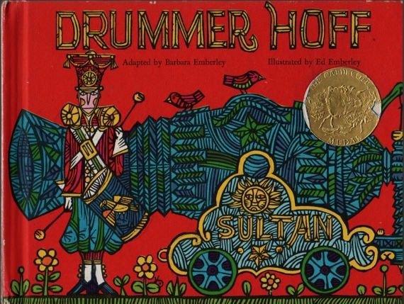 Drummer Hoff - Caldecott Medal - Barbara & Ed Emberley (1968) Vintage Kids Book
