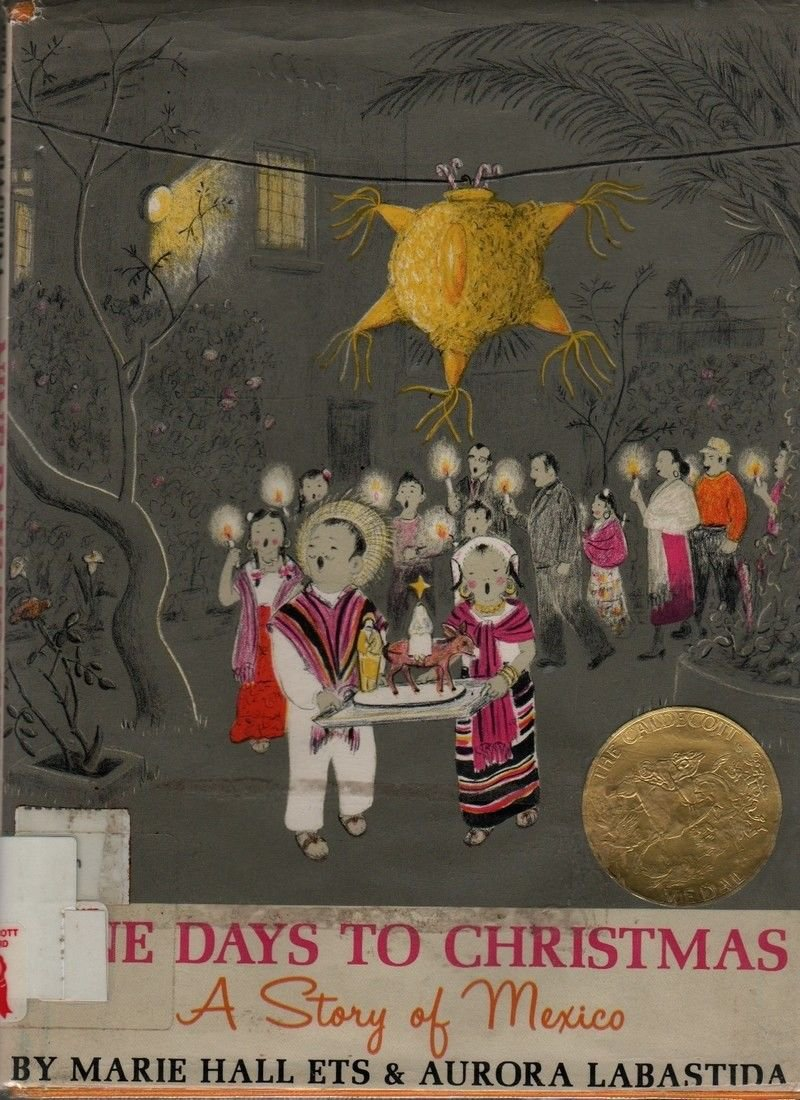 Nine Days to Christmas A Story of Mexico + Marie Hall Ets + 1959 + Vintage Kids