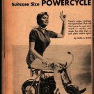 25 Projects on Wheels 1960 + Science and Mechanics Publishing + Vintage DIY Book
