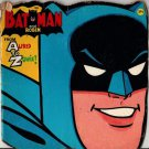 Batman and Robin From Alfred to Zowie! - 1966 - Vintage Kids Book