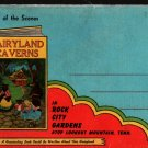 Fairyland Caverns Photo Postcard Portfolio + Rock City Gardens + Vintage Souvenir Postcard Book