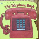 The Telephone Book, Golden Super Shape Book, Vintage Kids Book