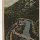The Narrows, West of Cumberland, Maryland, Linen, Vintage Postcard
