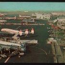 Los Angeles International Airport, California, Vintage Plastichrome Postcard