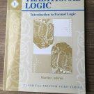 Traditional Logic Book I, Intro to Formal Logic, Memoria Press Classical Trivium