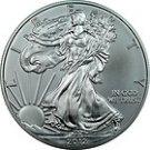 2012  American Silver Eagle GEM BU