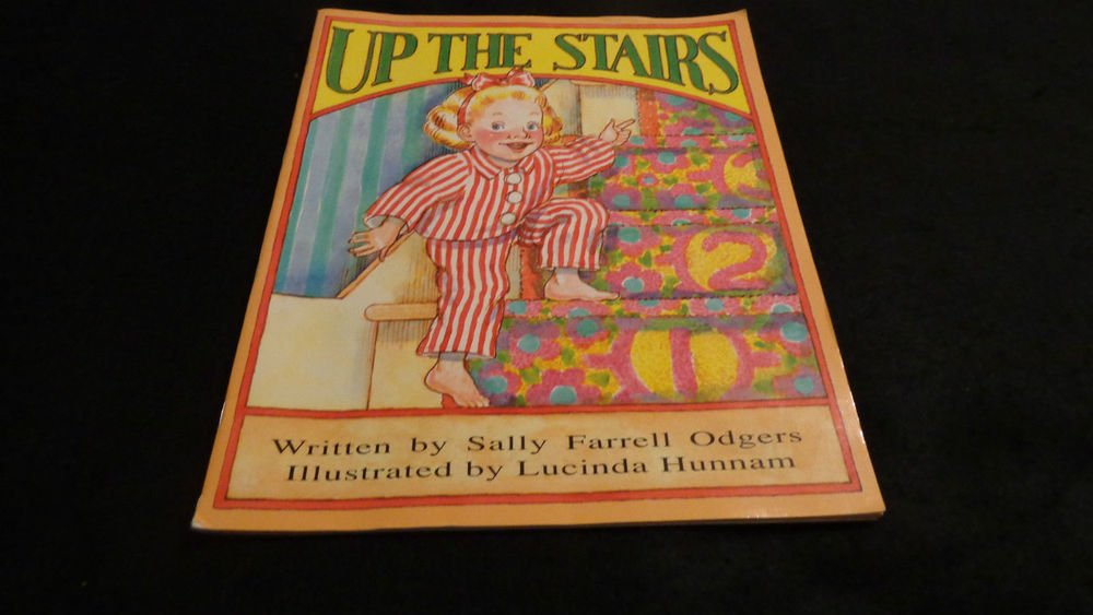 Up the Stairs  Child's Book Published in 1994 by McMillan/McGraw Hill