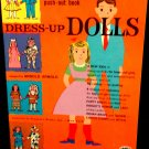 Vintage 3-Dimensional Push-Out Book  Dress-Up Dolls Treasure Books, Inc. 1960