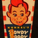 Vintage Kunkel's Howdy Doody Shoe Polish w/  Original Box & Bottle 1950s