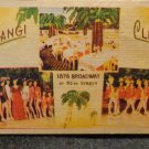 "Vintage Black Americana Postcard Unused Ubangi Club ""Harlan on Broadway"""